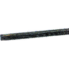 Threaded Rod – #10-24; 3 Feet Long; Steel-Oil Plain
