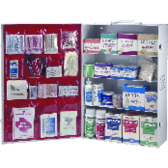 First Aid Kit – 4-Shelf Industrial Cabinet