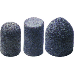 2″ × 3″ × 5/8″–11–24 Grit – Aluminum Oxide – Style T16 – Resin Cone