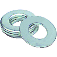 #6 Bolt Size – Zinc Plated Carbon Steel – Flat Washer